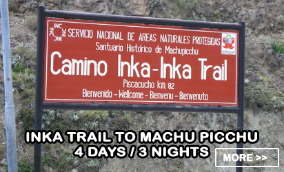 Inka Trail to Machu Picchu 4 days